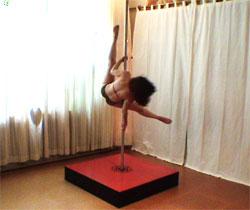 diy striptease poles eden nicole